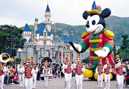 上海迪士尼乐园不会抢香港生意