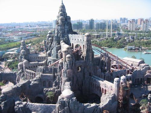 上海欢乐谷七大分区